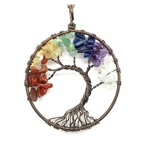 Jewelry - Host Pick! Chakra Tree of Life Necklace